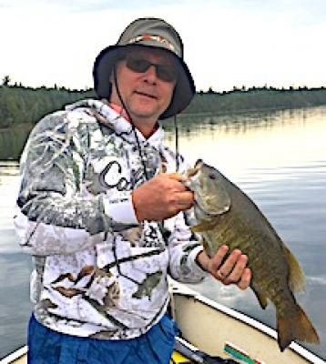 My Biggest Trophy Smallmouth Bass Fishing at Fireside Lodge in Canada