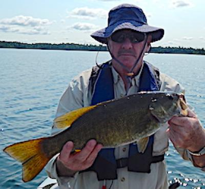 Mountainous Trophy Smallmouth Bass Fishing at Fireside Lodge in Canada