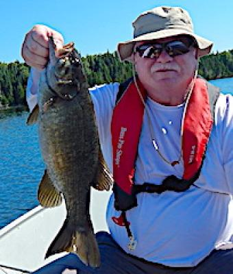 1st Time Trophy Smallmouth Bass Fishing Ontario Canada