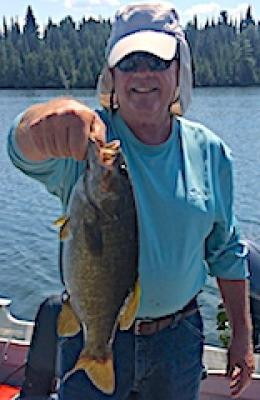 Mid Summer Trophy Smallmouth Bass Fishing at Fireside Lodge in Canada
