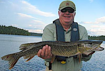 Enjoy Northern Pike Fishing at Fireside Lodge in Canada