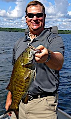 Absolutley Huge Trophy Smallmouth Bass Fishing at Fireside Lodge in Canada