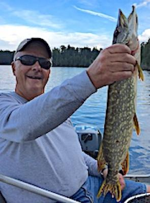 Family Memory Northern Pike Fishing at Fireside Lodge in Canada