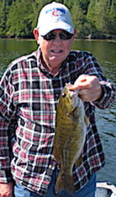 Regular Trophy Smallmouth Bass Fishing at Fireside Lodge in Canada