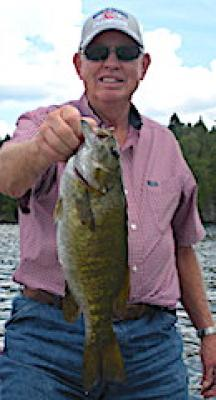 Trophy Smallmouth Bass Happiness at Fireside Lodge in Canada