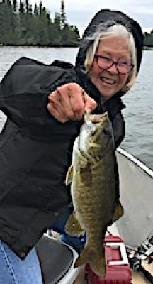 Look BIG Smallmouth Bass Fishing at Fireside Lodge in Canada