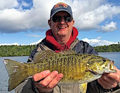 Big Smallmouth Bass Fishing Fun at Fireside Lodge in Canada