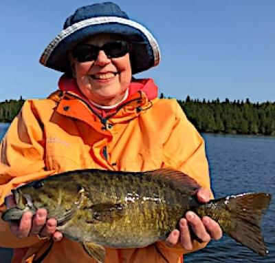 Monstrous Trophy Smallmouth Bass Fishing at Fireside Lodge in Canada