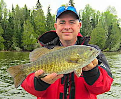 BIG Pre-Spawn Smallmouth Bass Fishing at Fireside Lodge in Canada
