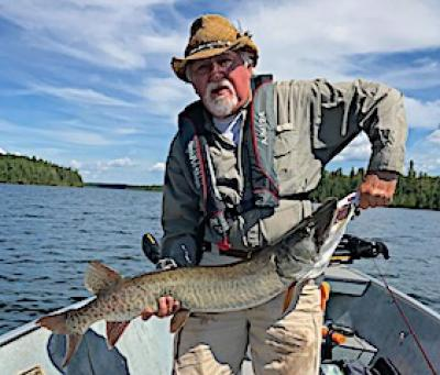 Over 80 Trophy Muskie Club Fishing at Fireside Lodge in Ontario Canada
