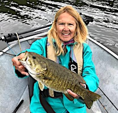 Top Water Action for Trophy Smallmouth Bass Fishing in Ontario Canada