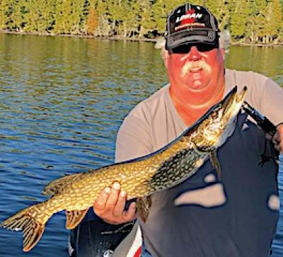 Labor DayNorthern Pike Fishing at Fireside Lodge in Northwest Ontario Canada