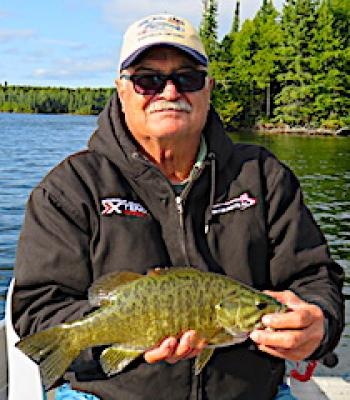 GREAT Smallmouth Bass Fishing at Fireside Lodge in Northwest Ontario Canada