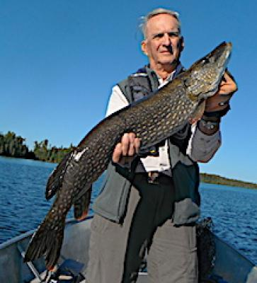 September Trophy Northern Pike Fishing at Fireside Lodge in Ontario Canada