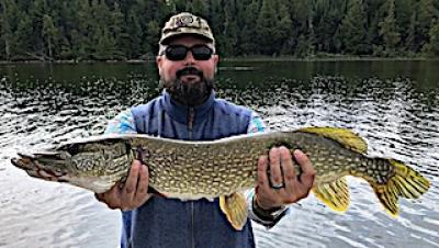 GREAT 1st Experience Northern Pike Fishing at Fireside Lodge in Ontario Canada