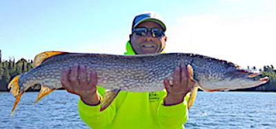 BIG Fall Northern Pike are a Ball Fishing in Northwest Ontario Canada