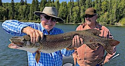 39-inch Heavy Northern Pike Fishing at Fireside Lodge in Northwest Ontario Canada