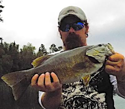 Qualified Trophy Smallmouth Bass Fishing at Fireside Lodge in Ontario Canada
