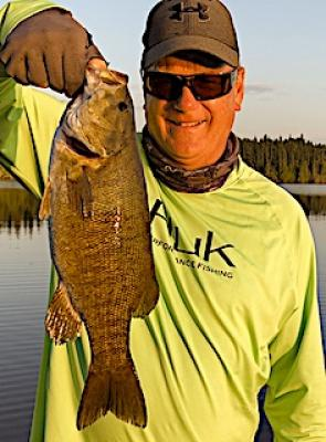 Whopper Size Trophy Smallmouth Bass Fishing in Ontario Canada
