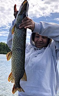 1st Northern Pike Fishing With Grandparents in Ontario Canada