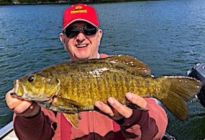 Having a Ball BIG Smallmouth Bass Fishing at Fireside Lodge in Ontario CAnada