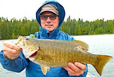 Outstanding Smallmouth Bass Trophies Fishing in Ontario Canada