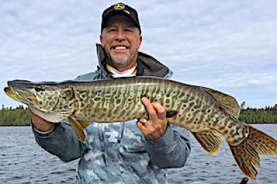 Tiger Muskie are Amazing Fishing at Fireside Lodge in Canada