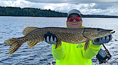 Special Fall Northern Pike Fishing at Fireside Lodge in Ontario Canada