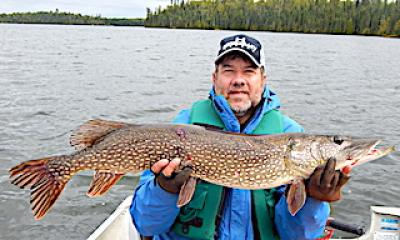 Fat Fall Trophy Northern Pike Fishing in Ontario Canada