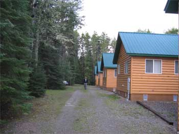 fishing lodge cabins Ontario Canada