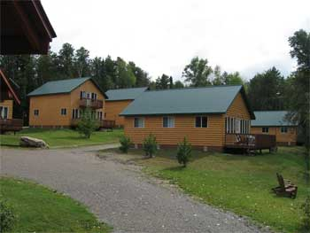 Ontario Canada fishing lodge cabins