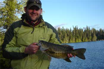 resorts in canada with trophy smallmouth bass