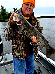 Great Laker Fishing at Fireside Lodge by Dave Young from Nashville, TN