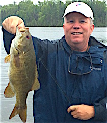 Trophy Smallmouth Bass by Steve Buchanan from Oklahoma City OK