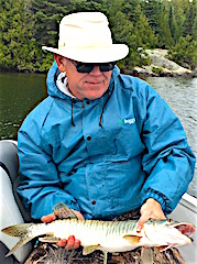 Tiger Muskie Fishing at Fireside Lodge by Perry Phillips from Okarche OK