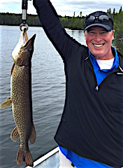 Big Northern Pike are a Blast by Keith Mitchell from The Colony TX