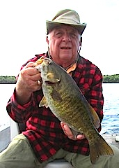 Trophy Smallmouth Bass Fishing Fireside Lodge Canada by Bill Goodwin