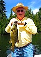 Trophy Smallmouth Bass Fishing Fireside Lodge Canada by Jeff Bernel