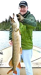HUGE Trophy Northern Pike Fishing at Fireside Lodge Canada