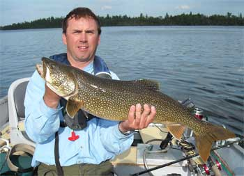 ontario fishing lodge with trophy lake trout