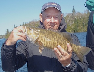 Trophy Smallmouth Bass Fishing at Fireside Lodge Canada