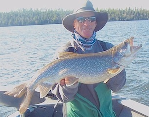 Trophy Lake Trout Fishing Fireside Lodge Canada