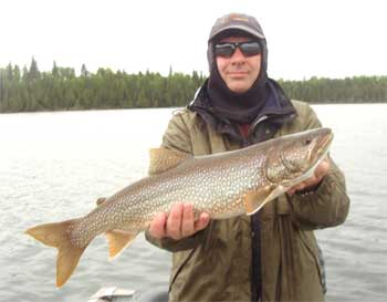 Lake Trout Fishing in Canada at Fireside Lodge