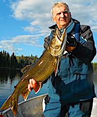 Terrific Trophy Lake Trout Fishing at Fireside Lodge in Canada by Bryan Neel