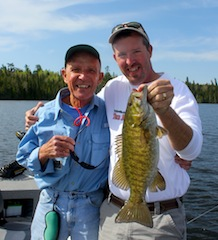 Fabulous Smallmouth Bass by Father & Son Pete & John Elmer