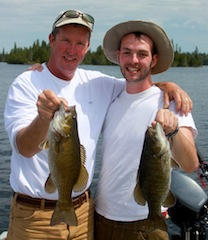 Great Smallmouth Fishing by John & Trent Elmer