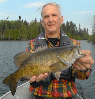 Trophy Pre Spawn Smallmouth Bass Fishing at Fireside Lodge by Bryan Neel