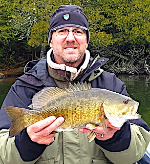 Trophy Smallmouth Bass are The Best Fishing by Michael at Fireside Lodge