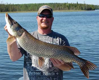 Terrific BIG Northern Pike Fishing at Fireside Lodge