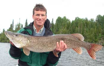 northern ontario canada trophy fishing pike